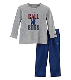 Under Armour® Baby Boys 2-Piece Call Me Boss Tee Set