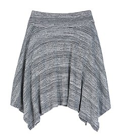 Amy Byer Girls' 7-16 Sharkbite Skirt
