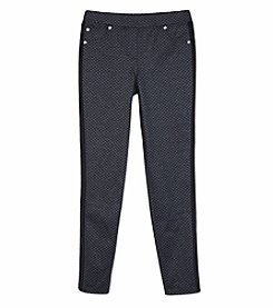 Amy Byer Girls' 7-16 Ponte Pull On Pants