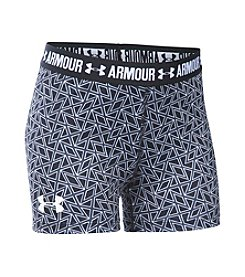 Under Armour® Girls' 7-16 HeatGear® Armour Printed 3'' Shorts