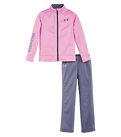 Under Armour® Girls' 2T-6X 2-Piece Teamster Track Set