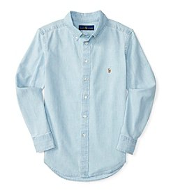 Polo Ralph Lauren® Boys' 8-20 Long Sleeve Button Down Shirt