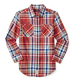 Polo Ralph Lauren® Boys' 8-20 Long Sleeve Work Shirt