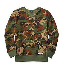Polo Ralph Lauren® Boys' 8-20 Camo Pullover Sweatshirt