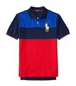 Polo Ralph Lauren® Boys' 8-20 Short Sleeve Novelty Polo
