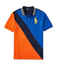 Polo Ralph Lauren® Boys' 8-20 Short Sleeve Banner Polo