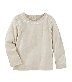 OshKosh B'Gosh® Girls' 2T-4T Long Sleeve Shimmer Tulle Tee