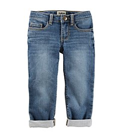 OshKosh B'Gosh® Girls' 2T-6X Cuffed Skinny Jeans