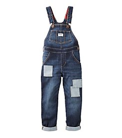 OshKosh B'Gosh® Girls' 4-6X Patchwork Overalls