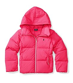 Polo Ralph Lauren® Girls' 7-16 Hooded Down Jacket