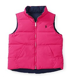 Polo Ralph Lauren® Girls' 7-16 Reversible Vest