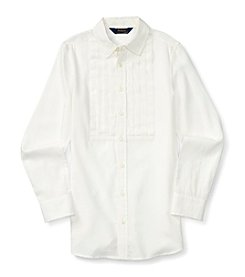 Polo Ralph Lauren® Girls' 7-16 Long Sleeve Button Down Tunic