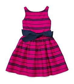 Polo Ralph Lauren® Girls' 7-16 Striped Fit And Flare Dress