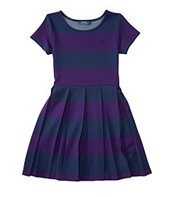Polo Ralph Lauren® Girls' 7-16 Pleated Stripe Dress