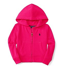 Polo Ralph Lauren® Girls' 7-16 Full Zip Terry Hoodie