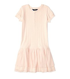 Polo Ralph Lauren® Girls' 7-16 Dropwaist Tiered Dress