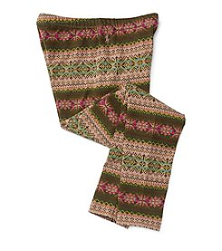 Polo Ralph Lauren® Girls' 7-16 Fair Isle Leggings