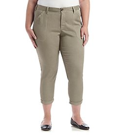 NYDJ® Plus Size Reese Relaxed Chino Pants