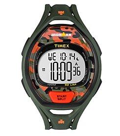 Timex® Unisex Ironman Sleek 50 Camo Watch