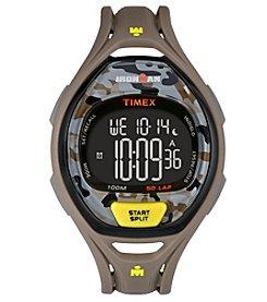 Timex® Unisex Ironman Sleek 50 Camo Watch