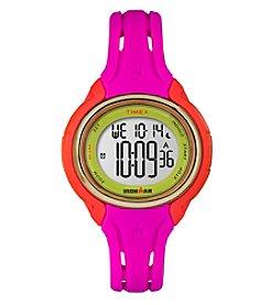 Timex® Women's Ironman Sleek 50 Color Block Watch