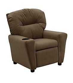 Flash Furniture Contemporary Microfiber Kids Recliner