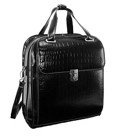 Siamod Novembre Ladies' Leather Detachable-Wheeled Laptop Case