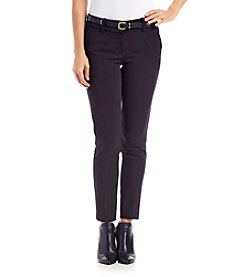 XOXO® Natalie Fit Belted Trouser
