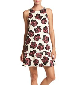 Kensie® Romantic Roses Open Back Dress