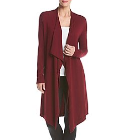 Kensie® Drapey Long Cardigan Sweater