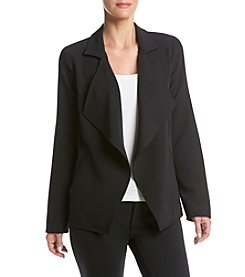 Kensie® Stretch Twill Drapey Jacket