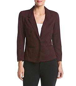 Kensie® Stretch Herringbone Jacket