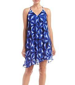 Calvin Klein Petites' Strap Print Shift Dress