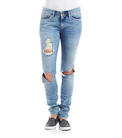 BLANKNYC® Classique Destructed Skinny Jeans