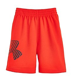 Under Armour® Boys' 4-7 Red Striker Shorts