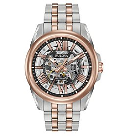 Bulova® Men's Automatic Two-Tone Stainless Steel Watch