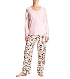 Intimate Essentials® Long Sleeve Pajama Set