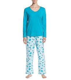 Intimate Essentials® Printed Pant Pajama Set
