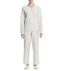 Intimate Essentials® Slippers and Pajama Set
