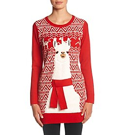 It's Our Time® Llama Tunic Sweater
