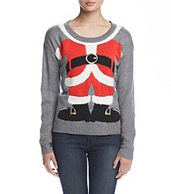 It's Our Time® Santa Body Pullover Sweater