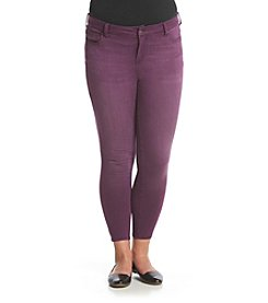 Celebrity Pink Plus Size Five Pocket Skinny Ankle Jeans