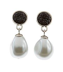 Studio Works® Pearl Drop Earrings