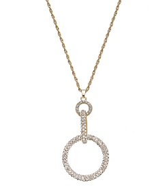Relativity® Goldtone Interlocking Links Necklace