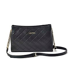 Calvin Klein Quilted Lamb Crossbody