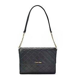 Calvin Klein Quilted Lamb Shoulder Bag