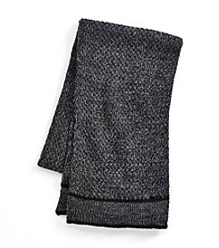 Calvin Klein ® Marled Lattice Stitch Scarf