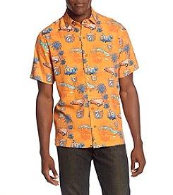 Paradise Collection® Men's Cuba Button Down Silk Shirt