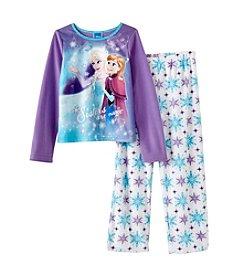 Disney® Girls' 4-10 2-Piece Sisters Are Magic Pajama Set