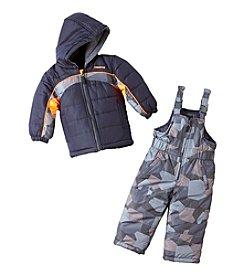 London Fog® Baby Boys' 2-Piece Colorblock Snow Suit